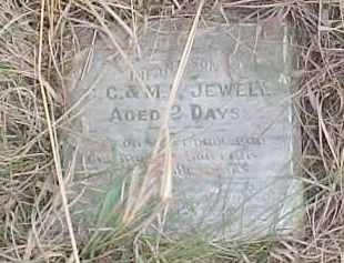 JEWELL, INFANT - Wayne County, Nebraska | INFANT JEWELL - Nebraska Gravestone Photos
