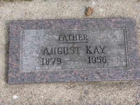KAY, AUGUST - Wayne County, Nebraska   AUGUST KAY - Nebraska Gravestone Photos