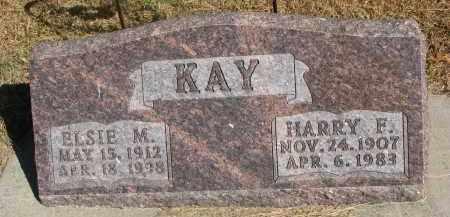 KAY, ELSIE MAE - Wayne County, Nebraska | ELSIE MAE KAY - Nebraska Gravestone Photos
