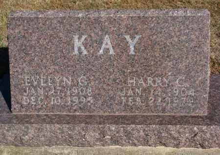 KAY, EVELYN G. - Wayne County, Nebraska | EVELYN G. KAY - Nebraska Gravestone Photos