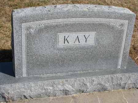 KAY, FAMILY STONE - Wayne County, Nebraska | FAMILY STONE KAY - Nebraska Gravestone Photos