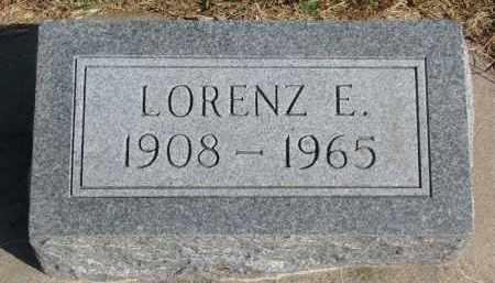 KAY, LORENZ E. - Wayne County, Nebraska   LORENZ E. KAY - Nebraska Gravestone Photos