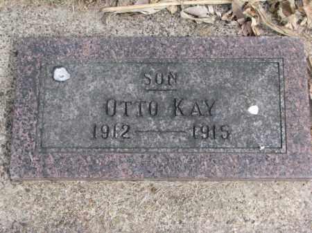 KAY, OTTO - Wayne County, Nebraska | OTTO KAY - Nebraska Gravestone Photos