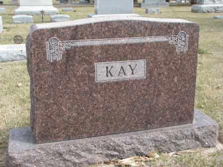 KAY, PLOT - Wayne County, Nebraska | PLOT KAY - Nebraska Gravestone Photos