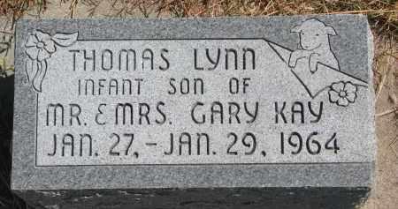 KAY, THOMAS LYNN - Wayne County, Nebraska   THOMAS LYNN KAY - Nebraska Gravestone Photos