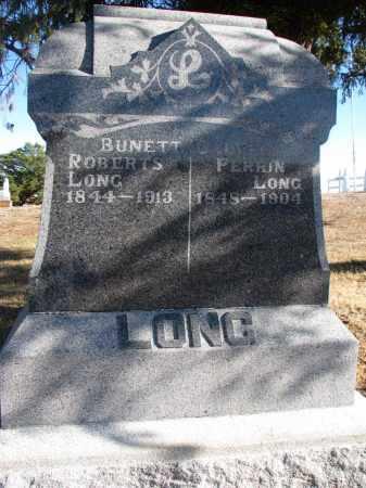 LONG, CLAVIN PERRIN - Wayne County, Nebraska | CLAVIN PERRIN LONG - Nebraska Gravestone Photos
