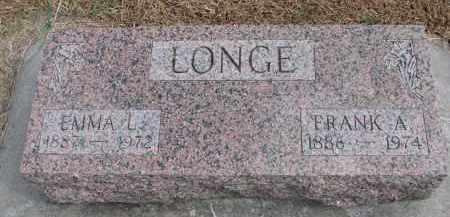 LONGE, EMMA L. - Wayne County, Nebraska | EMMA L. LONGE - Nebraska Gravestone Photos