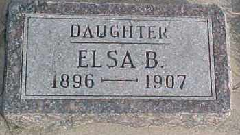 LONGE, ELSA B. - Wayne County, Nebraska | ELSA B. LONGE - Nebraska Gravestone Photos