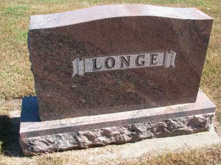 LONGE, FAMILY STONE - Wayne County, Nebraska | FAMILY STONE LONGE - Nebraska Gravestone Photos