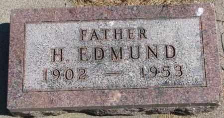LONGE, H. EDMUND - Wayne County, Nebraska | H. EDMUND LONGE - Nebraska Gravestone Photos