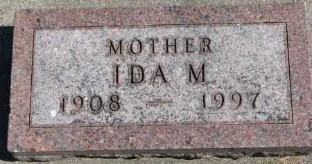 LONGE, IDA M. - Wayne County, Nebraska | IDA M. LONGE - Nebraska Gravestone Photos