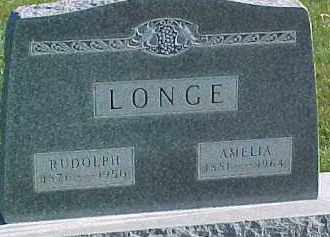 LONGE, AMELIA - Wayne County, Nebraska | AMELIA LONGE - Nebraska Gravestone Photos