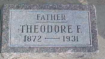 LONGE, THEODORE F. - Wayne County, Nebraska | THEODORE F. LONGE - Nebraska Gravestone Photos