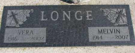 LONGE, VERA - Wayne County, Nebraska | VERA LONGE - Nebraska Gravestone Photos