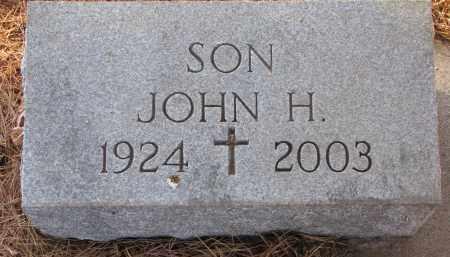 MCINTYRE, JOHN H. - Wayne County, Nebraska | JOHN H. MCINTYRE - Nebraska Gravestone Photos
