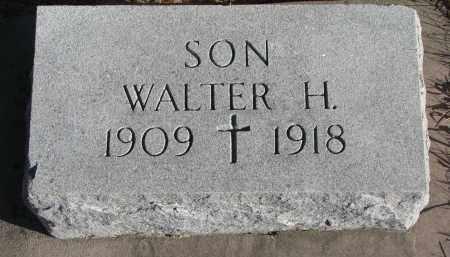 MCINTYRE, WALTER H. - Wayne County, Nebraska | WALTER H. MCINTYRE - Nebraska Gravestone Photos