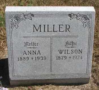 MILLER, WILSON - Wayne County, Nebraska | WILSON MILLER - Nebraska Gravestone Photos