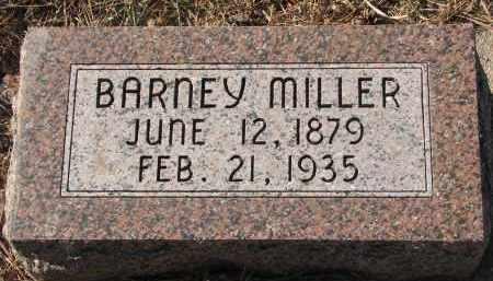 MILLER, BARNEY - Wayne County, Nebraska | BARNEY MILLER - Nebraska Gravestone Photos