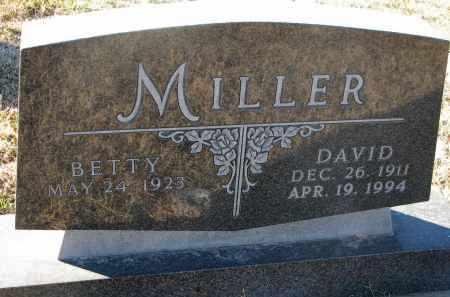 MILLER, BETTY - Wayne County, Nebraska   BETTY MILLER - Nebraska Gravestone Photos