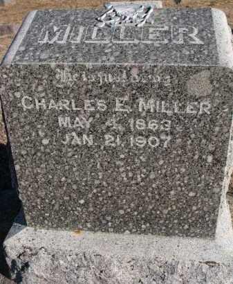 MILLER, CHARLES E. - Wayne County, Nebraska | CHARLES E. MILLER - Nebraska Gravestone Photos