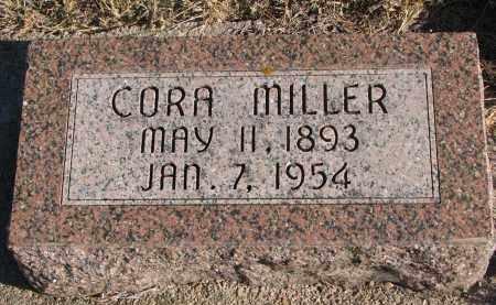 MILLER, CORA - Wayne County, Nebraska   CORA MILLER - Nebraska Gravestone Photos
