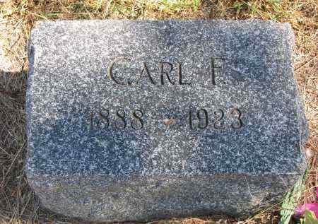 MILLER, CARL F. - Wayne County, Nebraska | CARL F. MILLER - Nebraska Gravestone Photos