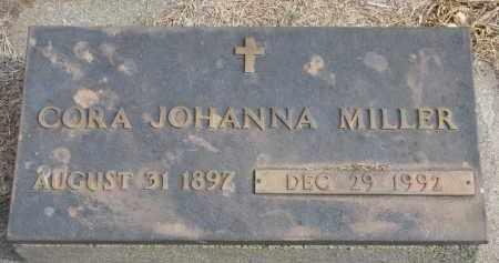 MILLER, CORA JOHANNA - Wayne County, Nebraska   CORA JOHANNA MILLER - Nebraska Gravestone Photos
