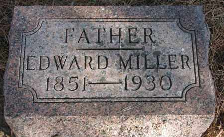 MILLER, EDWARD - Wayne County, Nebraska | EDWARD MILLER - Nebraska Gravestone Photos