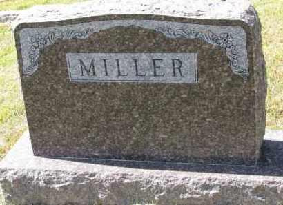 MILLER, FAMILY STONE - Wayne County, Nebraska   FAMILY STONE MILLER - Nebraska Gravestone Photos