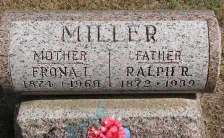 MILLER, RALPH R. - Wayne County, Nebraska | RALPH R. MILLER - Nebraska Gravestone Photos