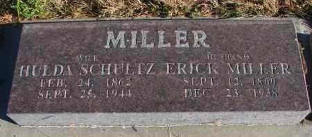 MILLER, ERICK - Wayne County, Nebraska | ERICK MILLER - Nebraska Gravestone Photos