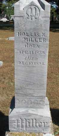 MILLER, HOLLIS N. - Wayne County, Nebraska   HOLLIS N. MILLER - Nebraska Gravestone Photos