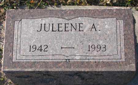 MILLER, JULEENE A. - Wayne County, Nebraska   JULEENE A. MILLER - Nebraska Gravestone Photos