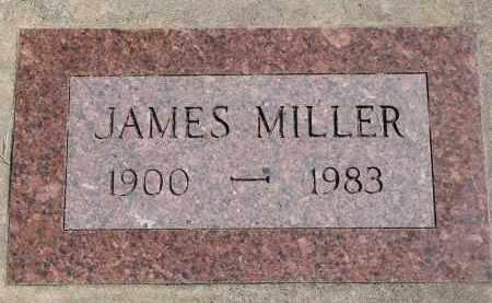 MILLER, JAMES - Wayne County, Nebraska | JAMES MILLER - Nebraska Gravestone Photos