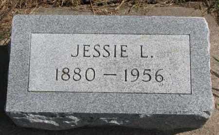 MILLER, JESSIE L. - Wayne County, Nebraska   JESSIE L. MILLER - Nebraska Gravestone Photos