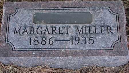 MILLER, MARGARET - Wayne County, Nebraska | MARGARET MILLER - Nebraska Gravestone Photos