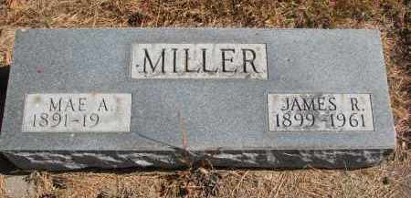 MILLER, MAE A. - Wayne County, Nebraska   MAE A. MILLER - Nebraska Gravestone Photos