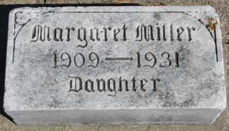 MILLER, MARGARET - Wayne County, Nebraska   MARGARET MILLER - Nebraska Gravestone Photos