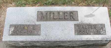 MILLER, MARY E. - Wayne County, Nebraska | MARY E. MILLER - Nebraska Gravestone Photos