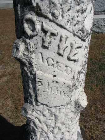 MILLER, OTIE (CLOSEUP) - Wayne County, Nebraska   OTIE (CLOSEUP) MILLER - Nebraska Gravestone Photos