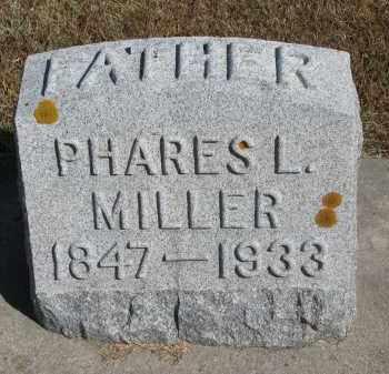 MILLER, PHARES L. - Wayne County, Nebraska | PHARES L. MILLER - Nebraska Gravestone Photos