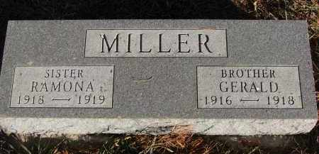 MILLER, GERALD - Wayne County, Nebraska | GERALD MILLER - Nebraska Gravestone Photos