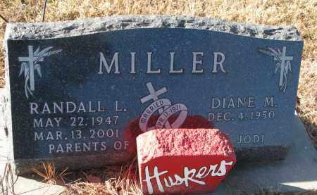 MILLER, DIANE M. - Wayne County, Nebraska | DIANE M. MILLER - Nebraska Gravestone Photos
