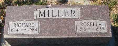 MILLER, ROSELLA - Wayne County, Nebraska | ROSELLA MILLER - Nebraska Gravestone Photos