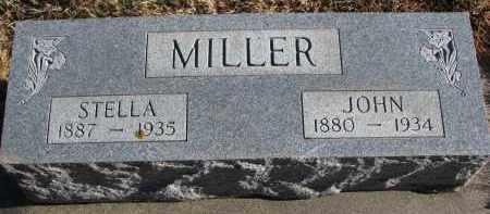 MILLER, JOHN - Wayne County, Nebraska   JOHN MILLER - Nebraska Gravestone Photos