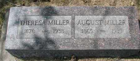 MILLER, THERESA - Wayne County, Nebraska | THERESA MILLER - Nebraska Gravestone Photos