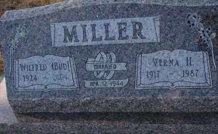MILLER, VERNA H. - Wayne County, Nebraska   VERNA H. MILLER - Nebraska Gravestone Photos