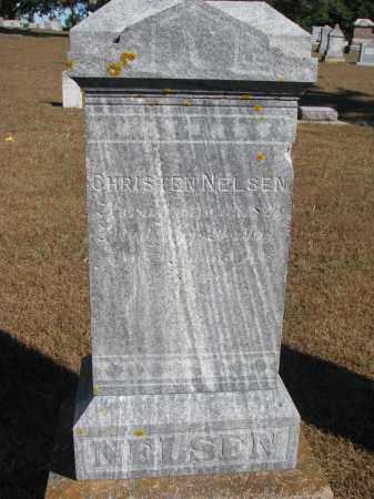 NELSEN, CHRISTEN - Wayne County, Nebraska | CHRISTEN NELSEN - Nebraska Gravestone Photos