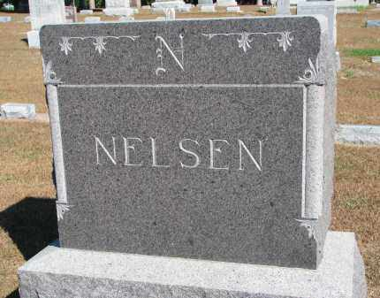 NELSEN, FAMILY STONE - Wayne County, Nebraska   FAMILY STONE NELSEN - Nebraska Gravestone Photos