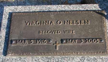 NELSEN, VIRGINIA O. - Wayne County, Nebraska | VIRGINIA O. NELSEN - Nebraska Gravestone Photos